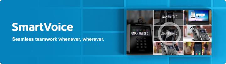 SmartVoice - seamless teamwork whenever, wherever.